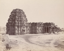 General view from the south-west of the Mahadeva Temple, Ittagi